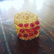 #crochet #wire #ring
