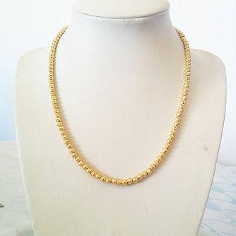 עיצוב שרשרת זהב