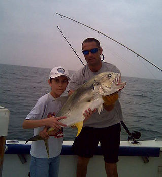 Jack Crevalle while fishing South Padre Island