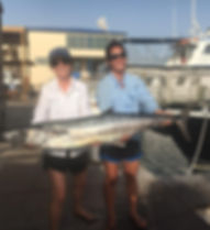 King Mackerel caught off South Padre Island.