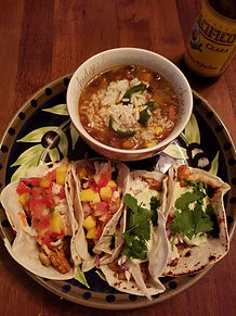 South Padre Island Fish Tacos