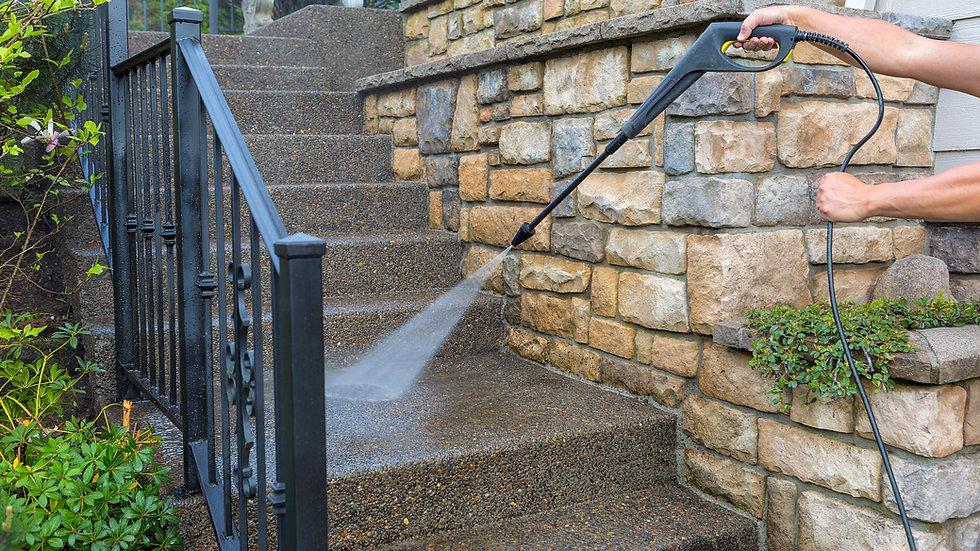 Premium Pressure Washing for Concrete Surfaces