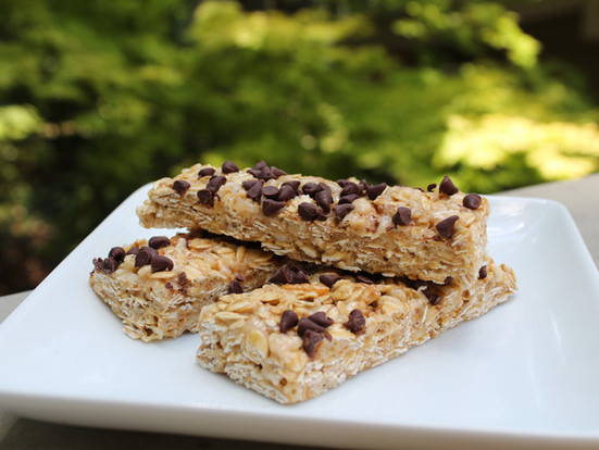 Honey Chocolate Chip Granola Bars