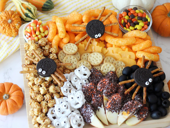 Halloween Charcuterie Board