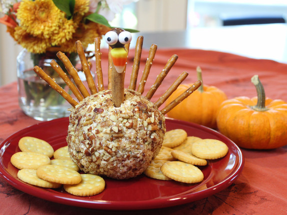 Our Favorite Cheeseball - Thanksgiving Style