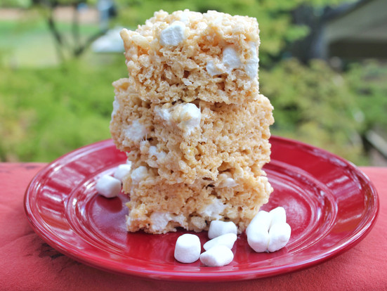 Browned Butter Rice Crispy Treats