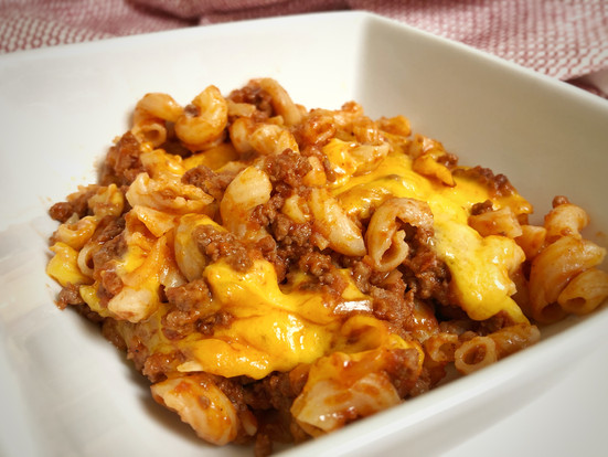 Cheeseburger Pasta Bake