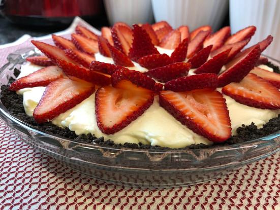 Fresh Fruit Cream Pie