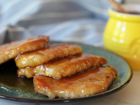 Honey Lemon Pork Schnitzel