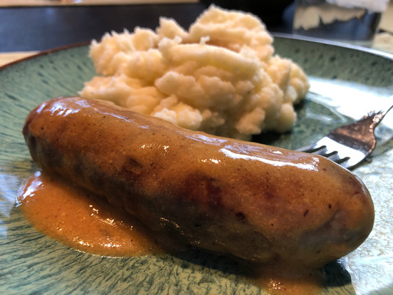 German Bratwurst (AKA Bangers and Mash)