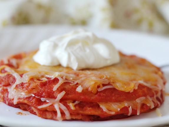 Arizona-style Enchiladas