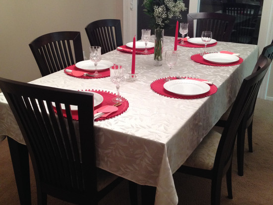 Family Valentine's Day Candlelight Dinner