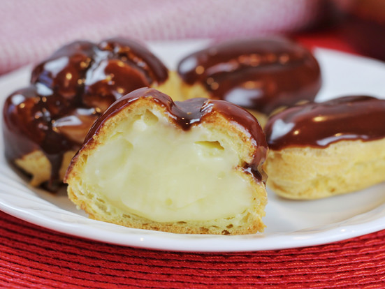 Cream Puffs and Eclairs