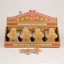 Gingerbread Man Nail File