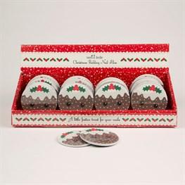 Christmas Pudding Nail File