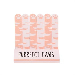 Purrfect Paws Nail Files Set of 6