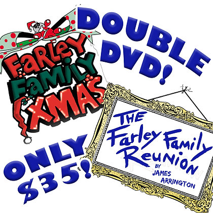 Farley Double DVD