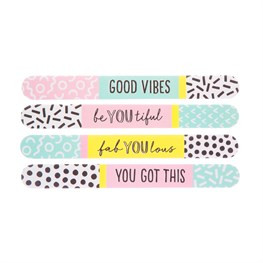 Memphis Nail File Assorted
