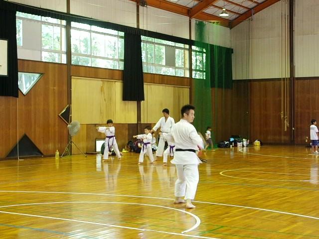 Hitoshi jokyo performing kata
