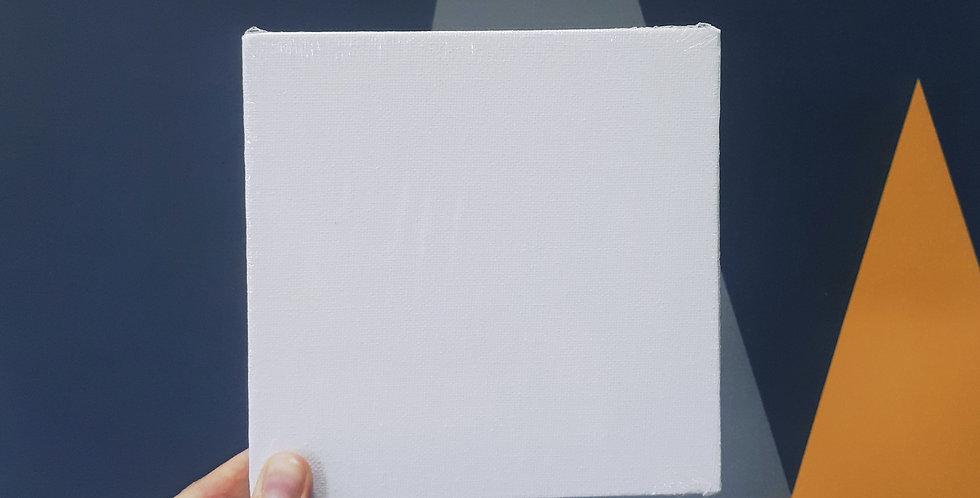 холст на картоне 15х15 см