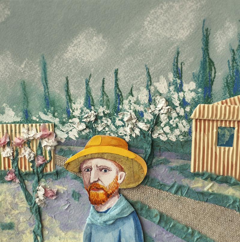 Винсент Ван Гог. Коллаж