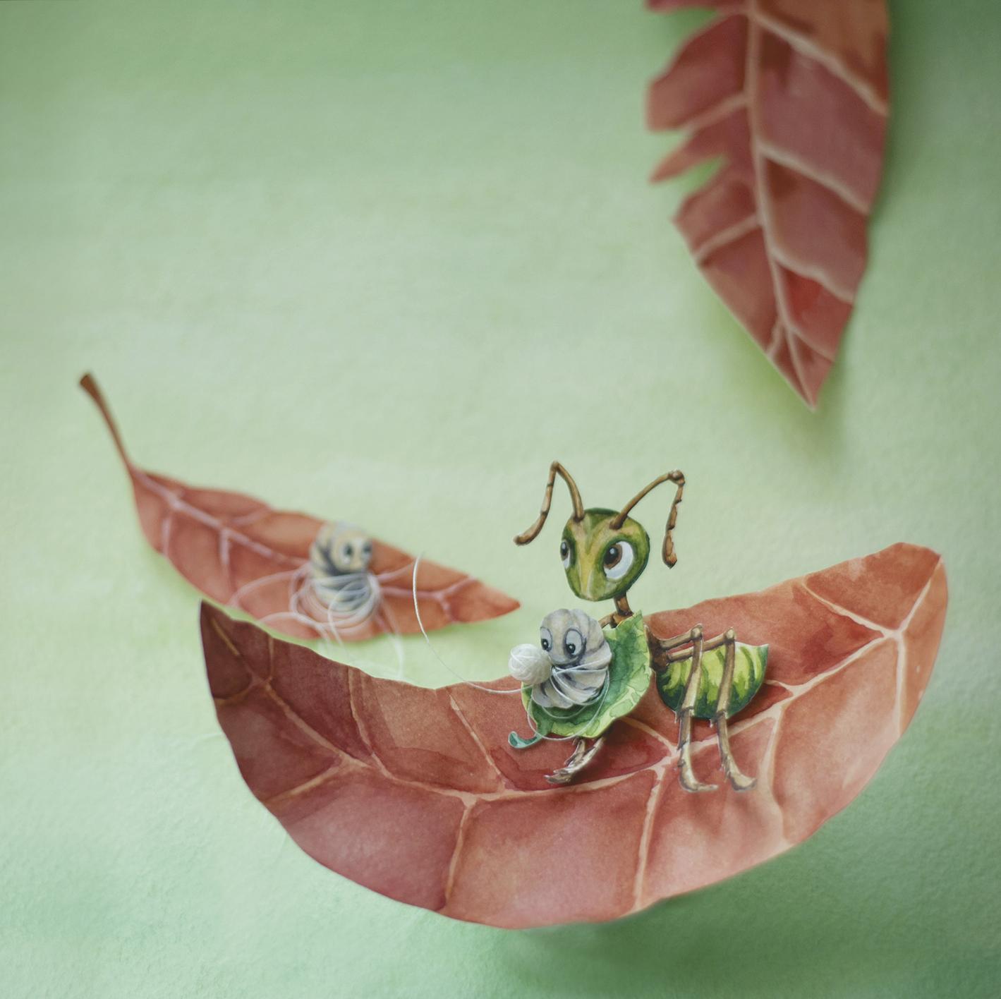 ants weavers