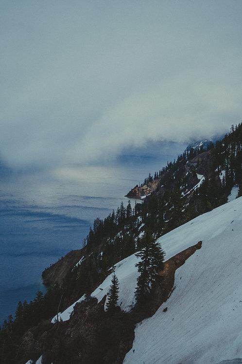 Crater Lake II Postcard