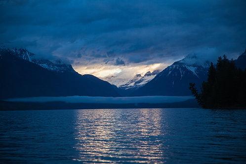 Glacier V Postcard