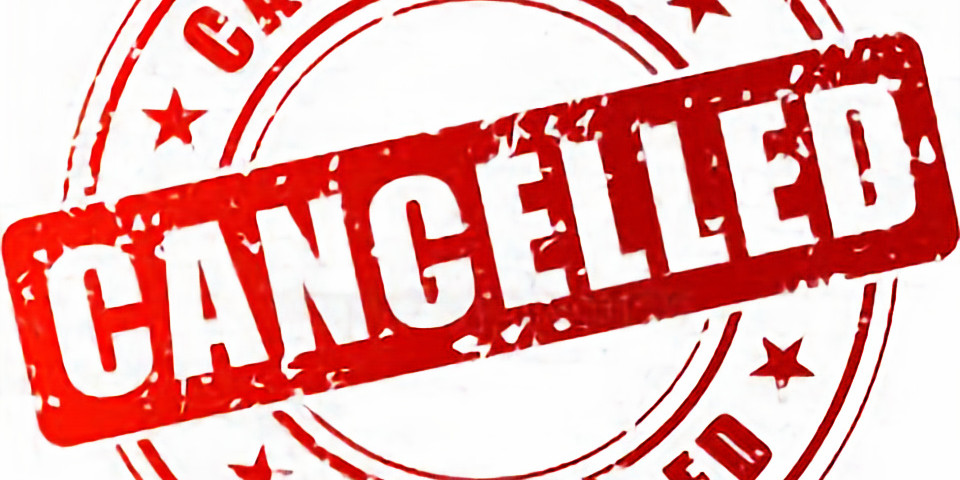 MEETING CANCELLED - Please take care