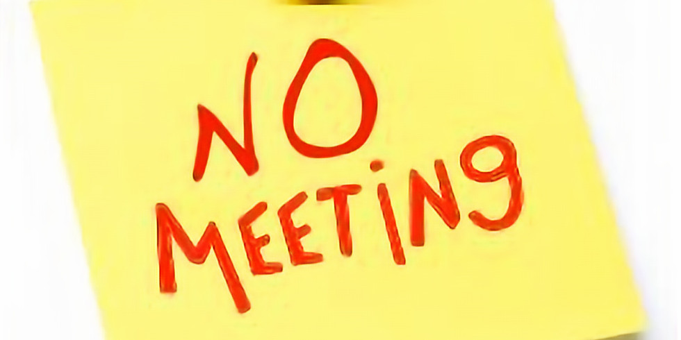 NO MEETING due to Joint Civic Luncheon earlier this week