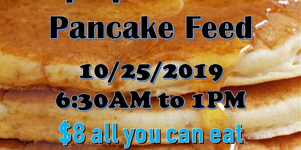 PANCAKE FEED!  COME GET SOME!