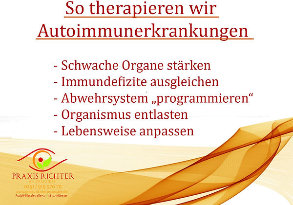 Therapie Auto-immunerkrankungenAuto-Immu