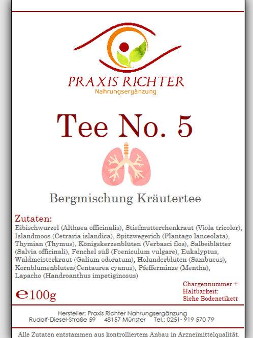 Tee No. 5 Husten-Bronchial