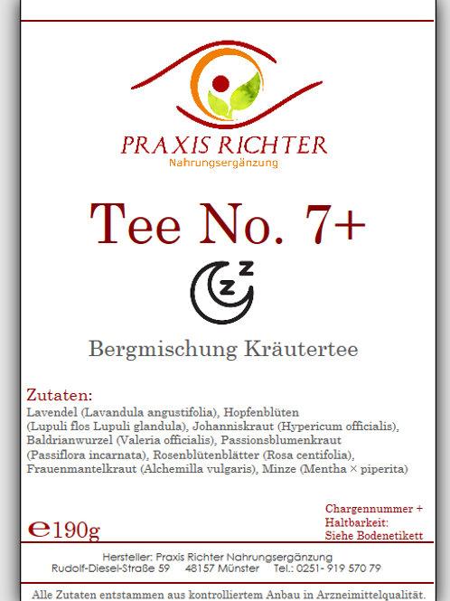 Tee No. 7+ Schlafen