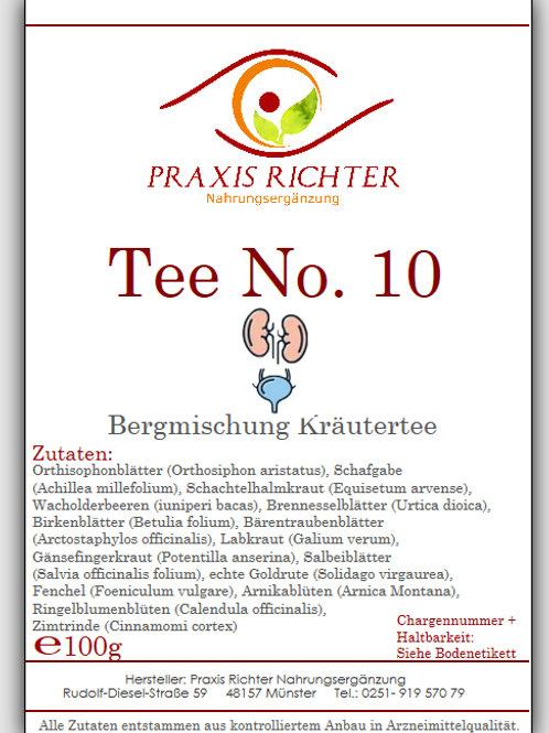 Tee No. 10 Nieren-Blase Antibiot.