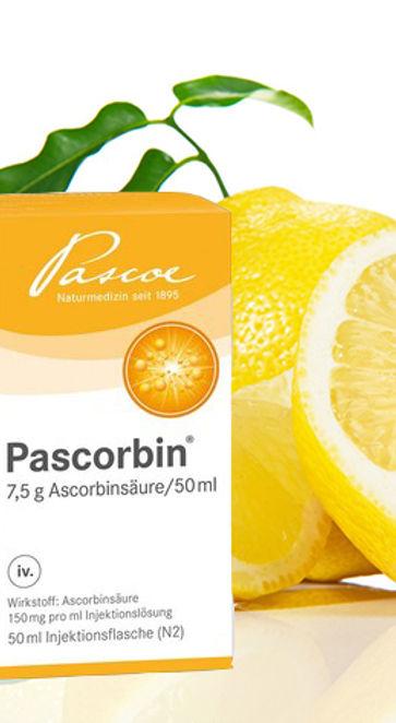Pascorbin, VitaminC, Vitamininfusion