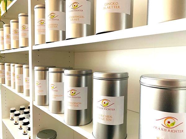 Teedosen Pflanzenheilkunde praxis richter münster
