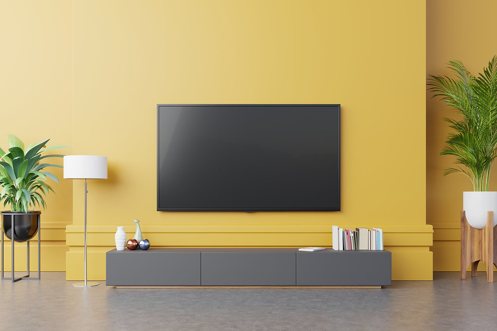 tv-cabinet-modern-living-room-with-lamp-