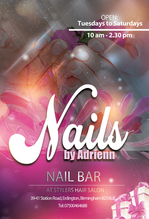 Poster for NAILS BY Adrienn