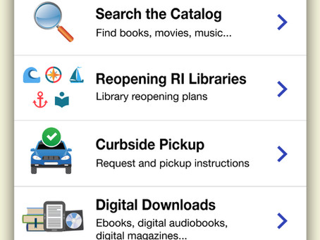 NEW Ocean State Libraries Mobile App now available: librarying has never been so easy.