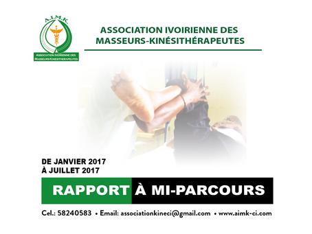 RAPPORT A MI-PARCOURS 2017