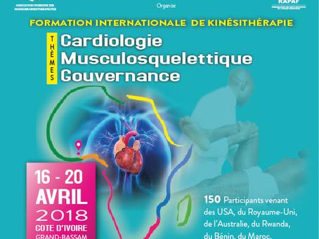 Formation Internationale Africaine de  Kinésithérapie - FIAK 2018