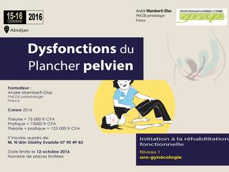 Formation: Dysfonctions du Plancher pelvien