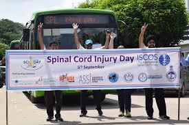 5 Septembre, Journée Internationale des lésions de la Moelle Épinière