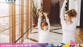 La importancia de la relajación en los niños y adolescentes.