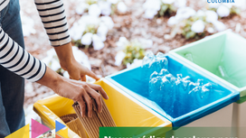 Nuevo código de colores para la separación de residuos.
