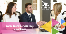 When it comes to service level, LARM team is first
