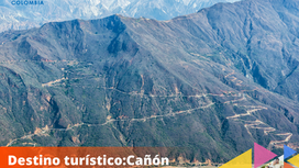 Destino turístico: Cañón del Chicamocha.