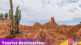 Tourist destination:                        Tatacoa Desert.