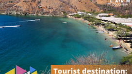 Tourist destination: Santa Marta.